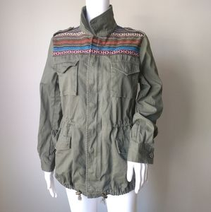 Forever 21 military jacket Aztec size smal…